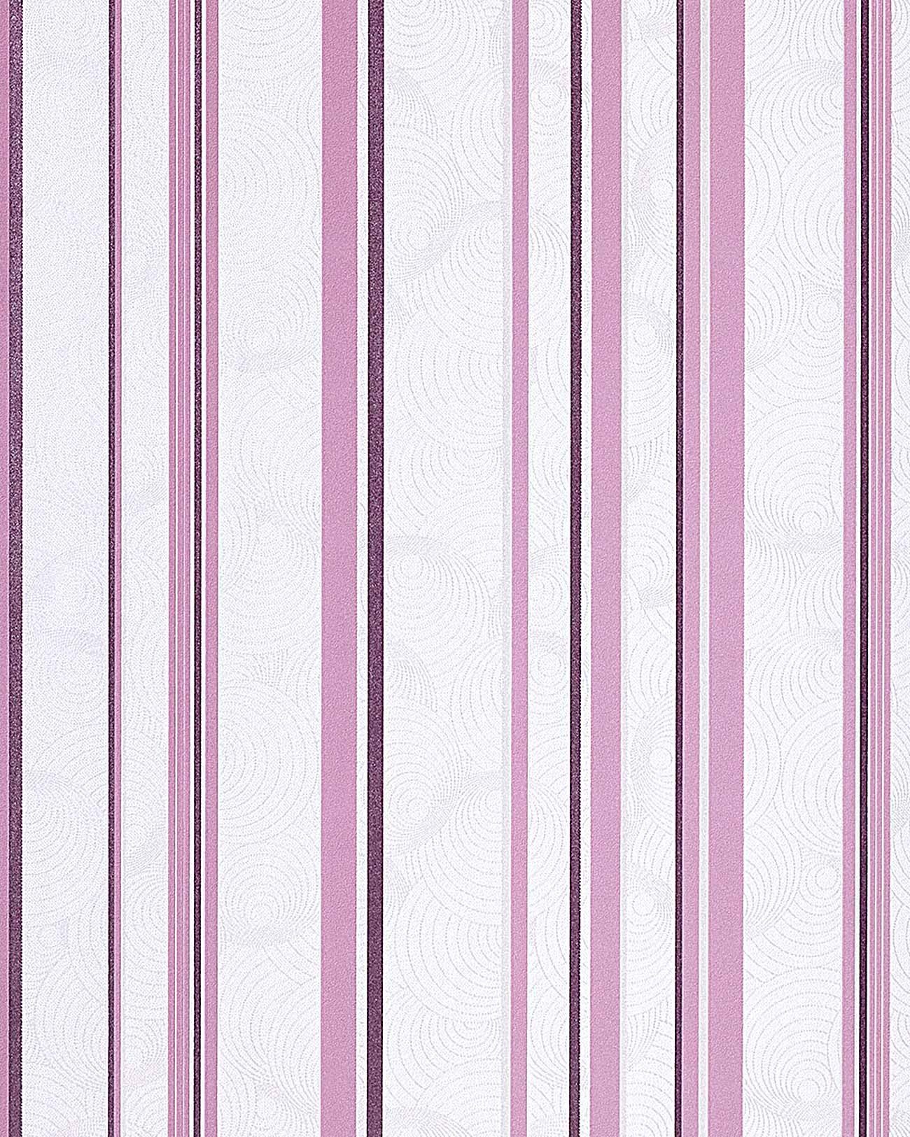 Lila Tapete Weiss Streichen : Cream and White Stripes On Wall
