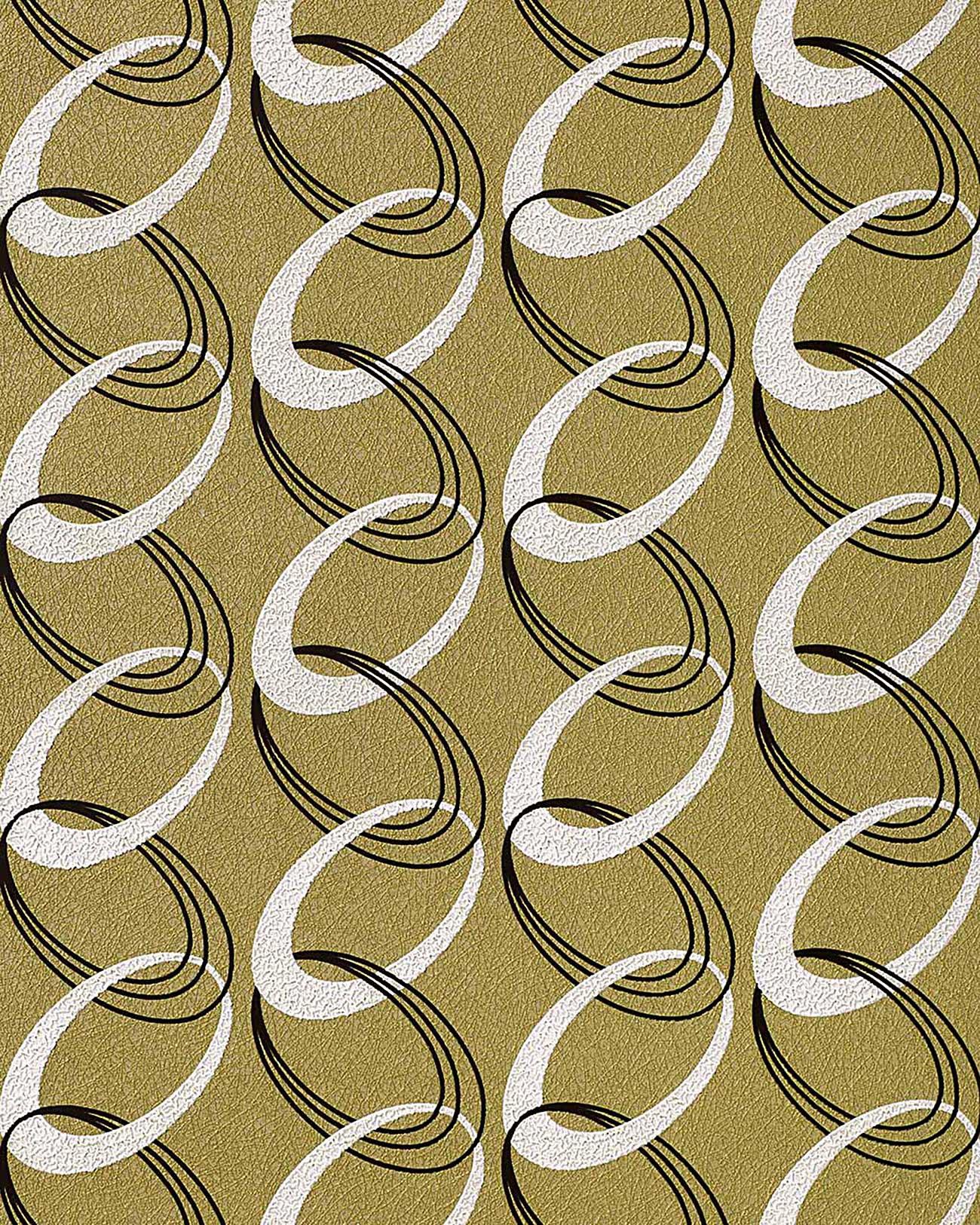 Edem 1017 15 fashion designer 70er retro rings tapete for Retro tapete