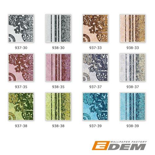 Hochwertige Tapeten Hersteller : Tapeten MUSTER EDEM 937-Serie Hochwertige Vintage Barock