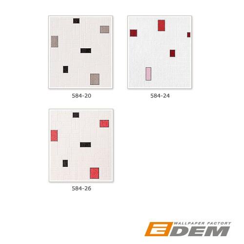 Muster Tapeten F?r Die K?che : Red Black and White Vinyl Wall Tiles