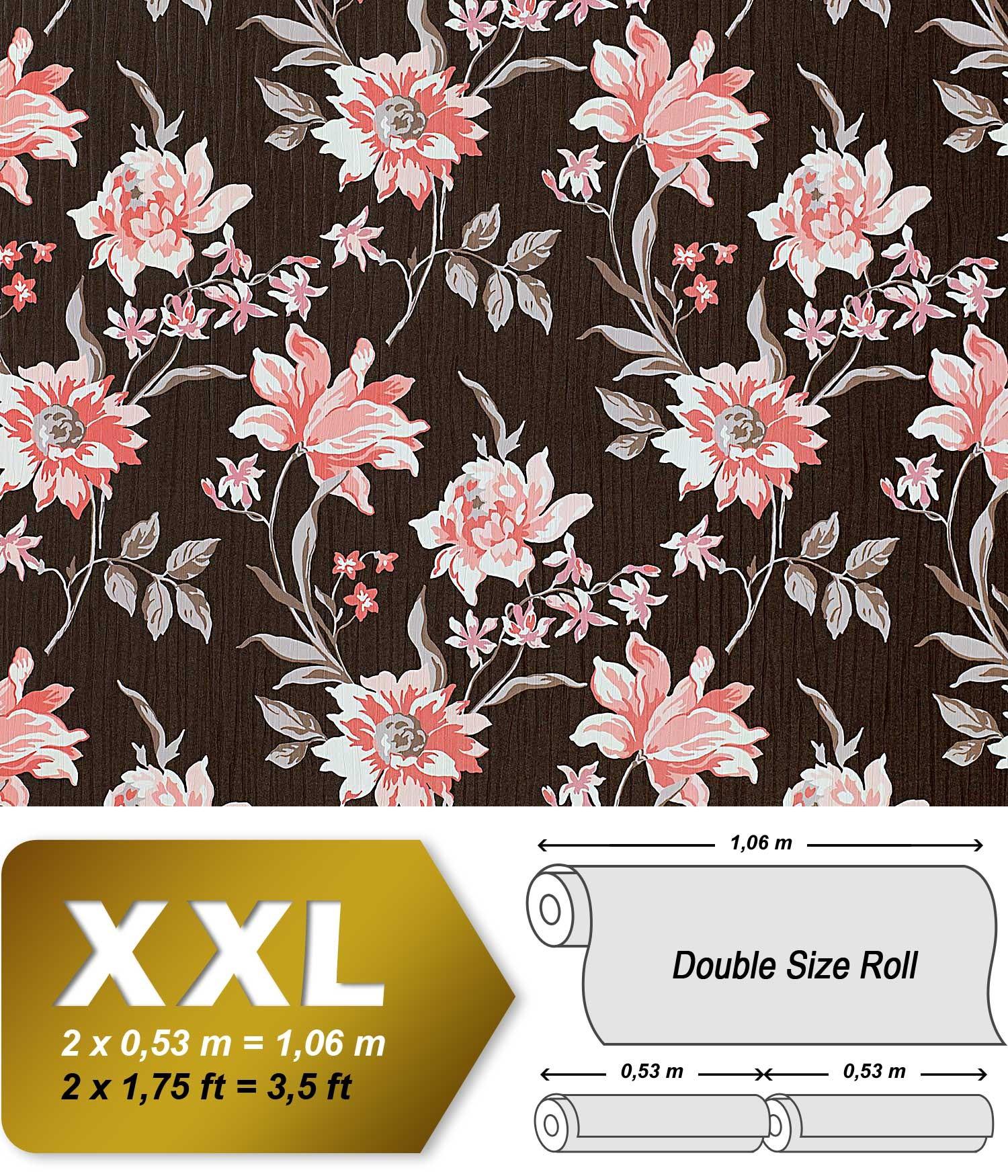 Vliestapeten Zum Streichen : Blumen Vliestapete EDEM 900-15 Tapete Floral Designer Blumen