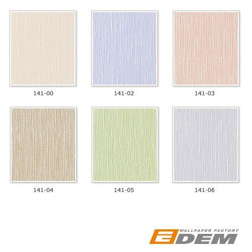 Tapeten Gestreift Pastell : EDEM 141-06 Elegante uni-tapete leicht gestreift sexy pastell-violett