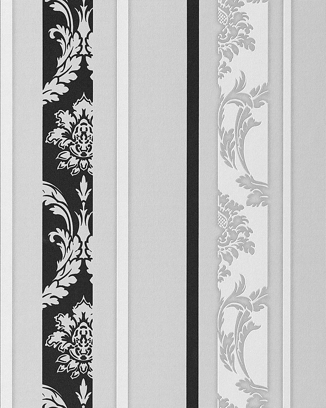 Schwarz Wei? Grau Tapete : Black and White Textured Wallpaper