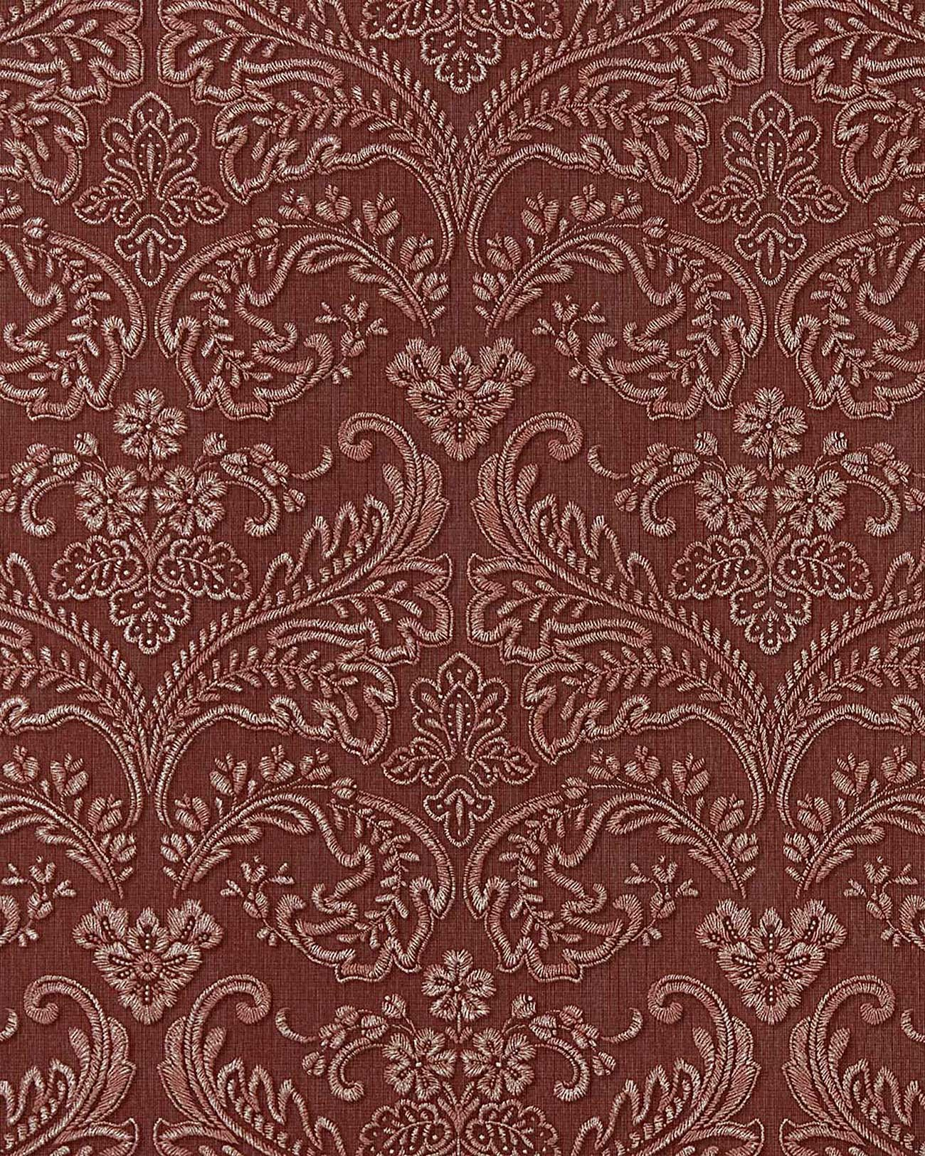 edem 755 26 3d barock pr ge tapete damask orient rot platin schattierung original edem. Black Bedroom Furniture Sets. Home Design Ideas