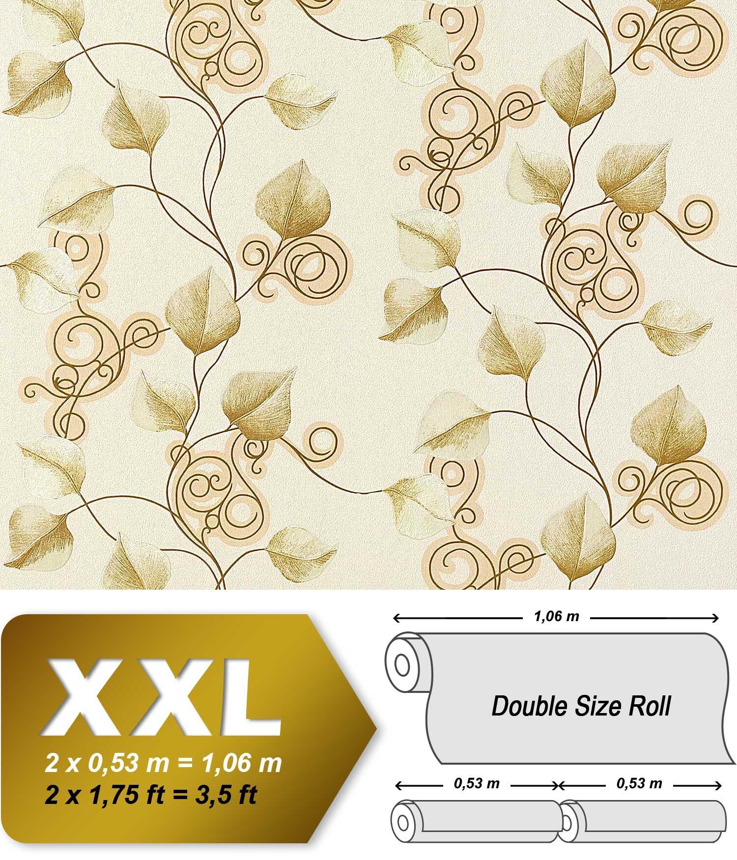 Tapeten Asiatische Muster : Blumen Vliestapete EDEM 950-20 Tapete XXL Landhaus Tapete Floral