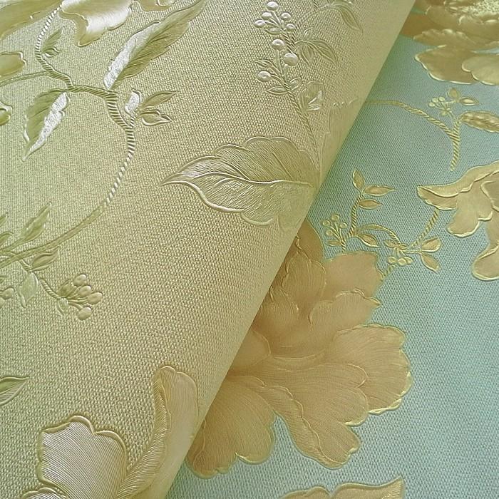 Hochwertige Kindertapeten : Pastel Flower Wall Coverings