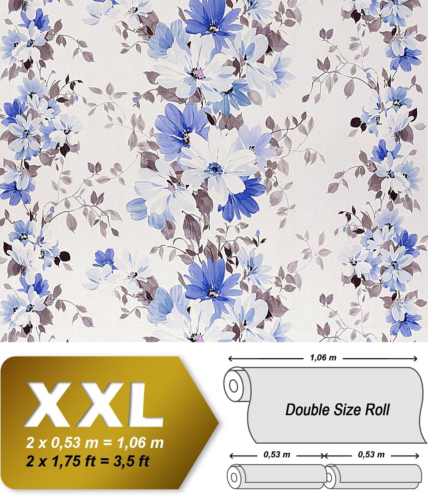 Tapeten Landhaus Floral Blumen Petite Fleur : White Non Woven Fabric