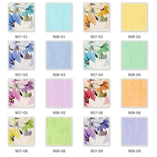 Tapeten Landhaus Floral Blumen Petite Fleur : Blumen Tapete Landhaus Pictures to pin on Pinterest
