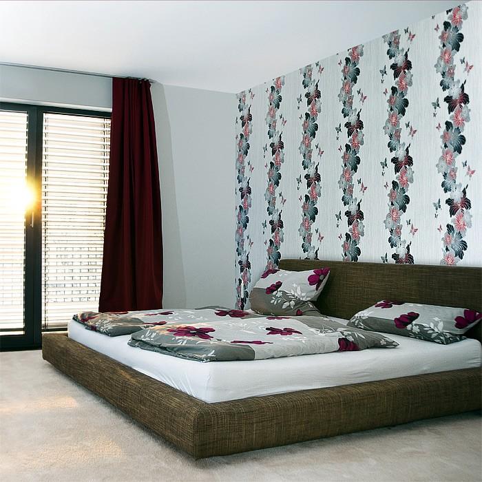 edem 108 34 3d tapete floral designer blumen blumentapete original edem wei lila hell lila. Black Bedroom Furniture Sets. Home Design Ideas