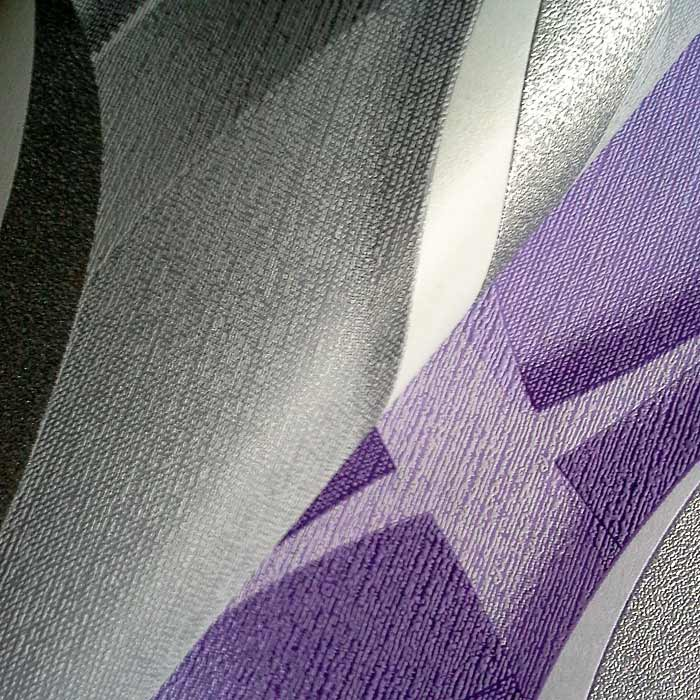 Edem 601 92 design vliestapete 3d ketten muster original for Muster tapete lila grau