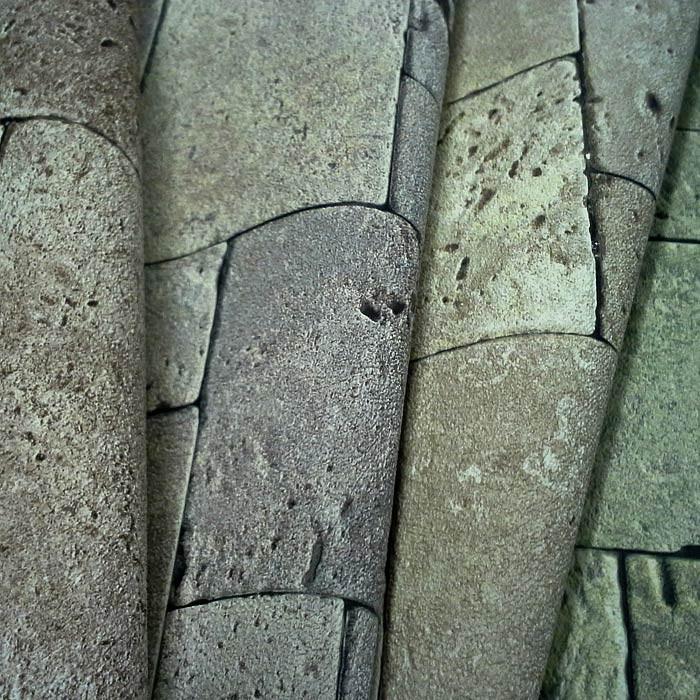 Edem 957 23 3d vliestapete xxl gepr gte mosaik steintapete - Steintapete hell ...