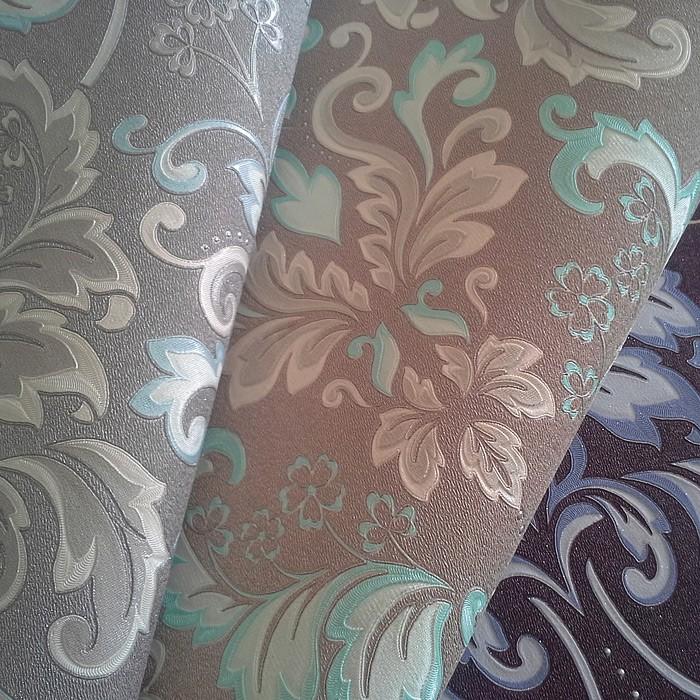 Barock Tapete T?rkis Braun : EDEM 966-25 Vliestapete Barock Muster Ornament klassisch Original EDEM
