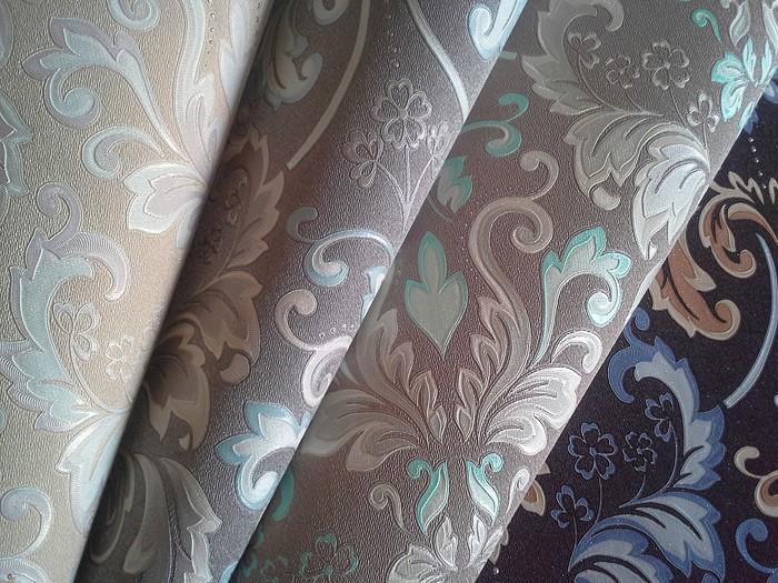 Muster Tapeten Braun Beige : XXL EDEM 966-26 Muster Ornament klassisch braun blau beige 10,65 qm