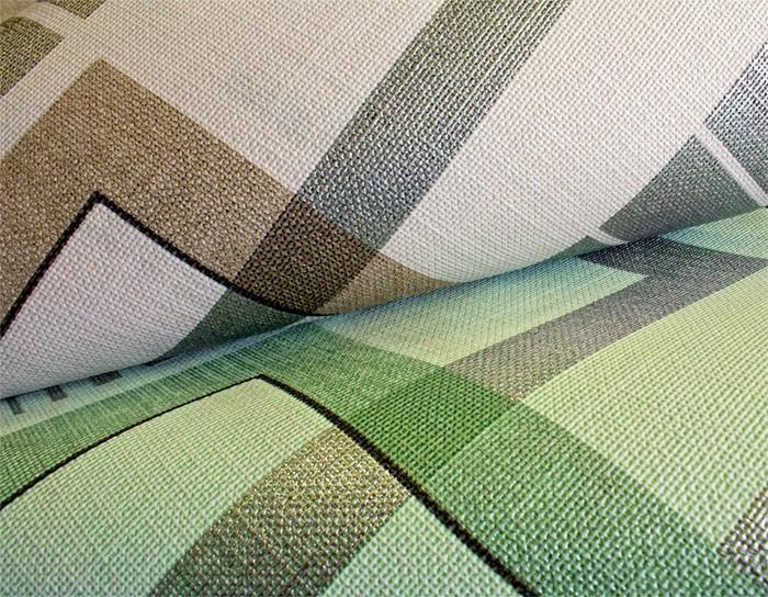 Retro Tapeten Dunkelgr?n : EDEM 609-95 Vliestapete XXL DesignTapete grafische Muster 10,65 qm