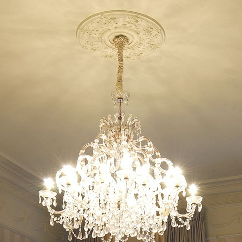 deckenrosette medallion orac decor r38 luxxus lampen. Black Bedroom Furniture Sets. Home Design Ideas