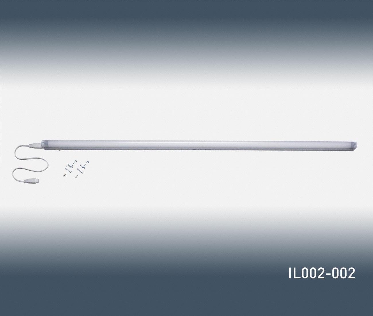 indirekte beleuchtung von orac decor il002 002 tube und lampe. Black Bedroom Furniture Sets. Home Design Ideas