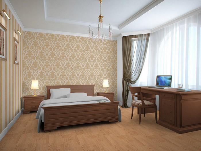 Hochwertige Tapeten Gold : 752-30 hochwertige gepr?gte Luxus Neo Damask Tapete creme gold platin