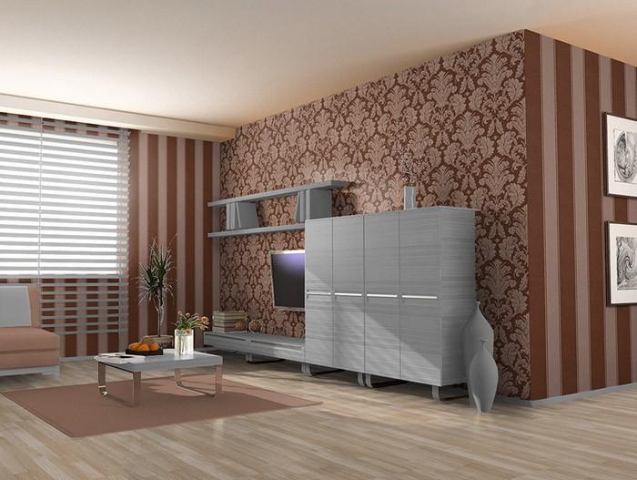 Cool vorzglich landhaus tapete braun im zusammenhang mit braun  EN23