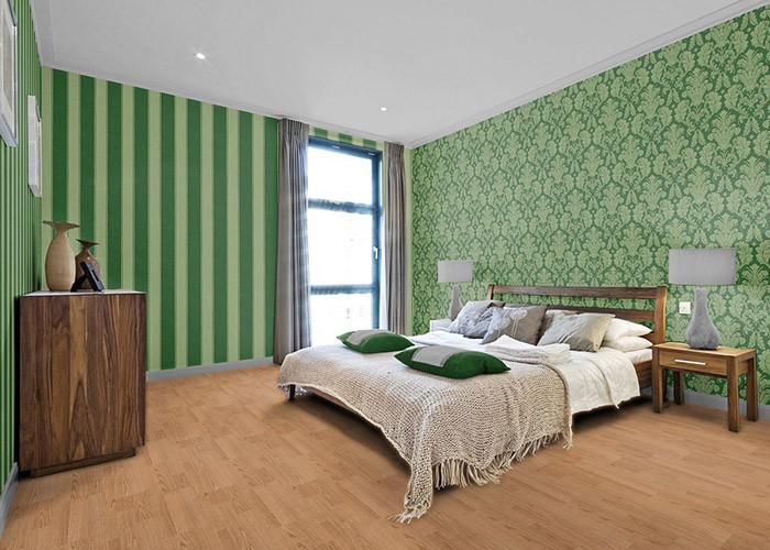 edem 753 38 luxus blockstreifen barock streifen tapete edel gr n gold platin original edem edel. Black Bedroom Furniture Sets. Home Design Ideas