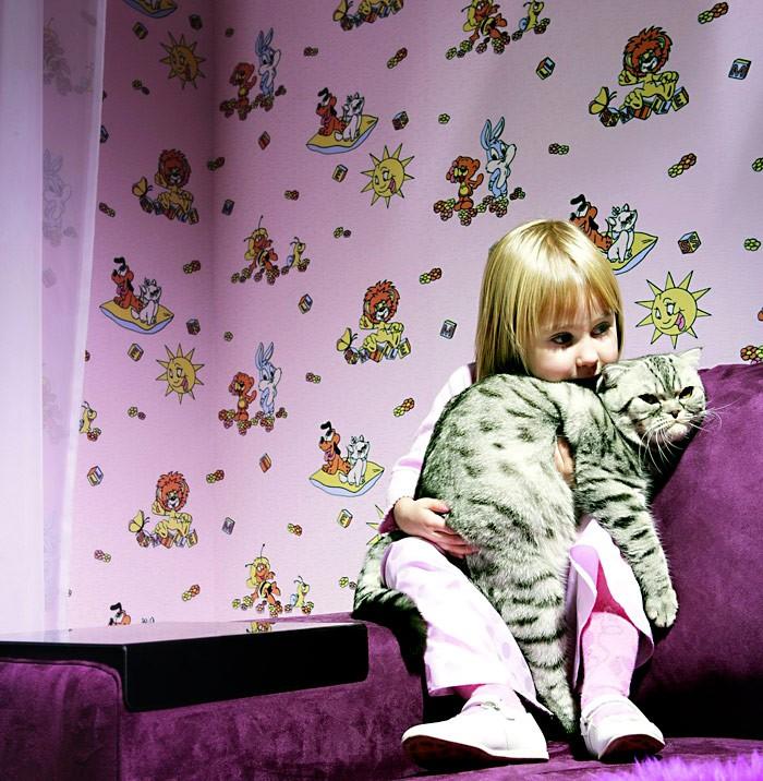 Kinder Tapeten Kombinieren : Children's Vinyl Wall Covering