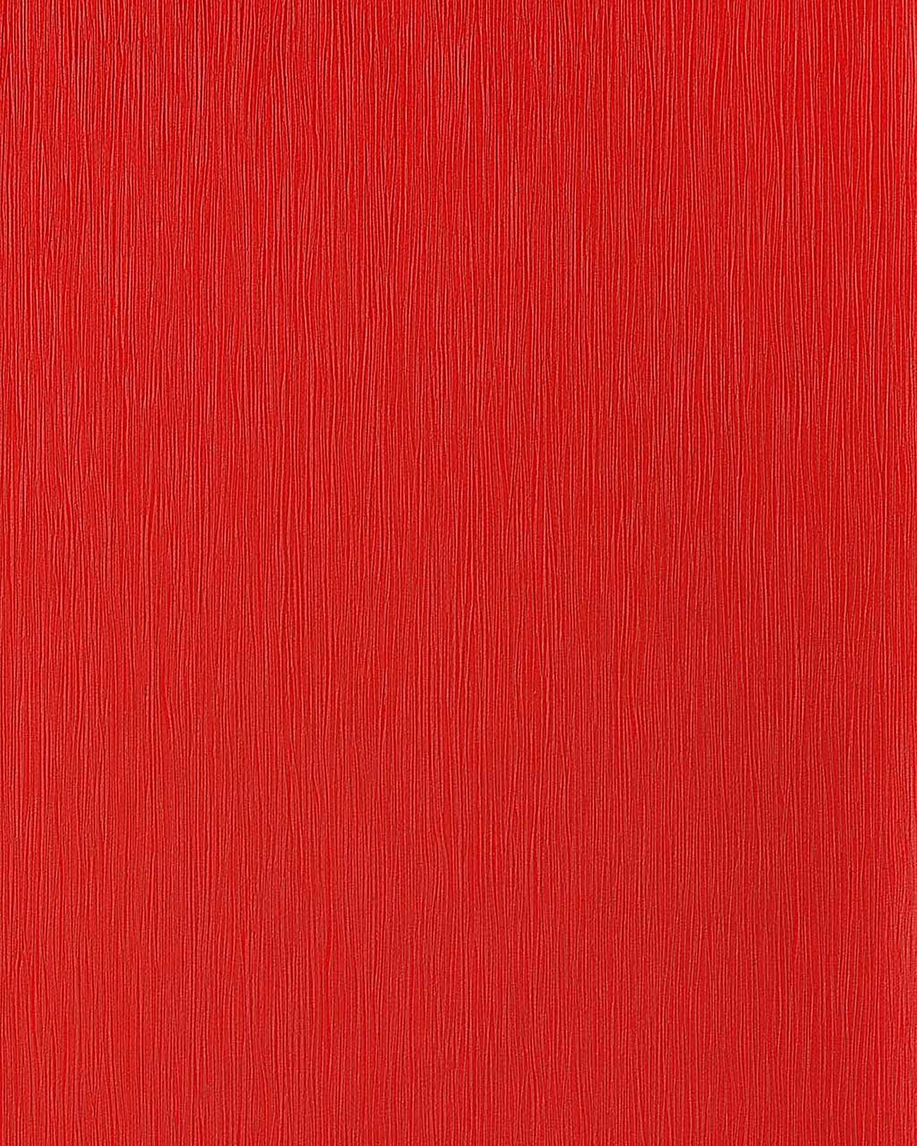 Edem 118 24 design uni tapete leicht gestreift gute laune for Tapete rot gestreift